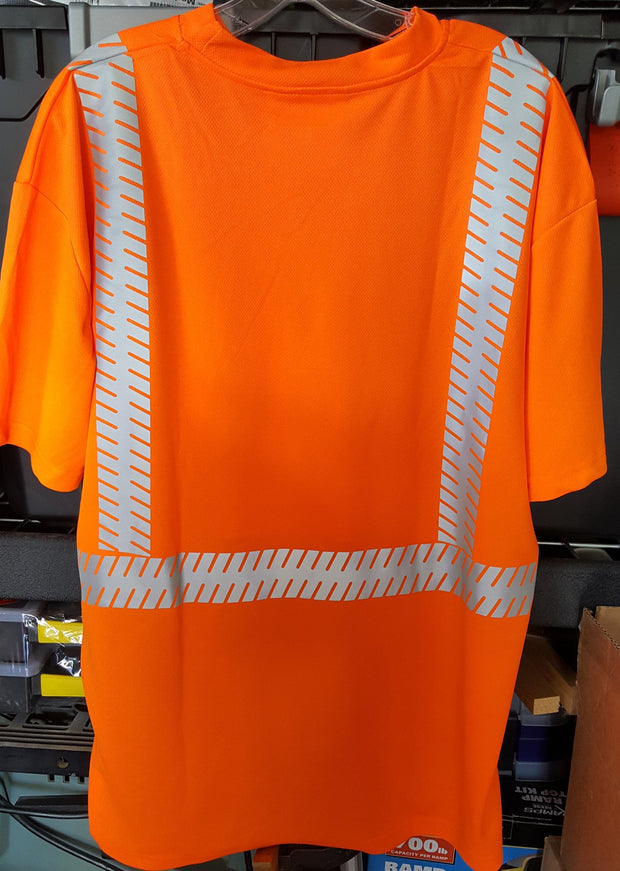 Safety Shirt Majestic 75-5216 Hi Vis CL2 Safety T-Shirt: Global Construction Supply