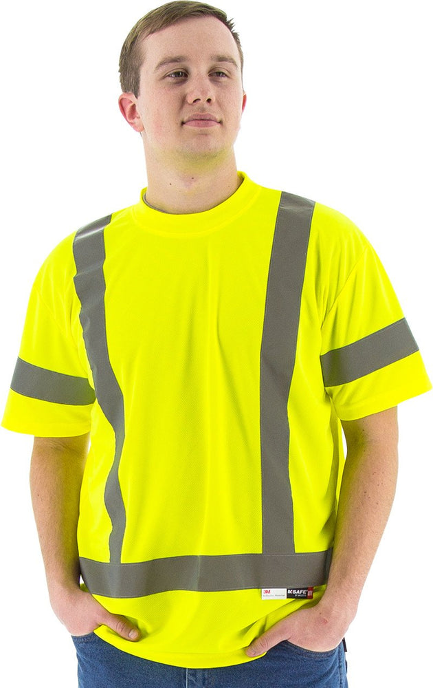Safety Shirt Majestic 75-5303 Hi Vis CL3 Safety T-Shirt: Global Construction Supply