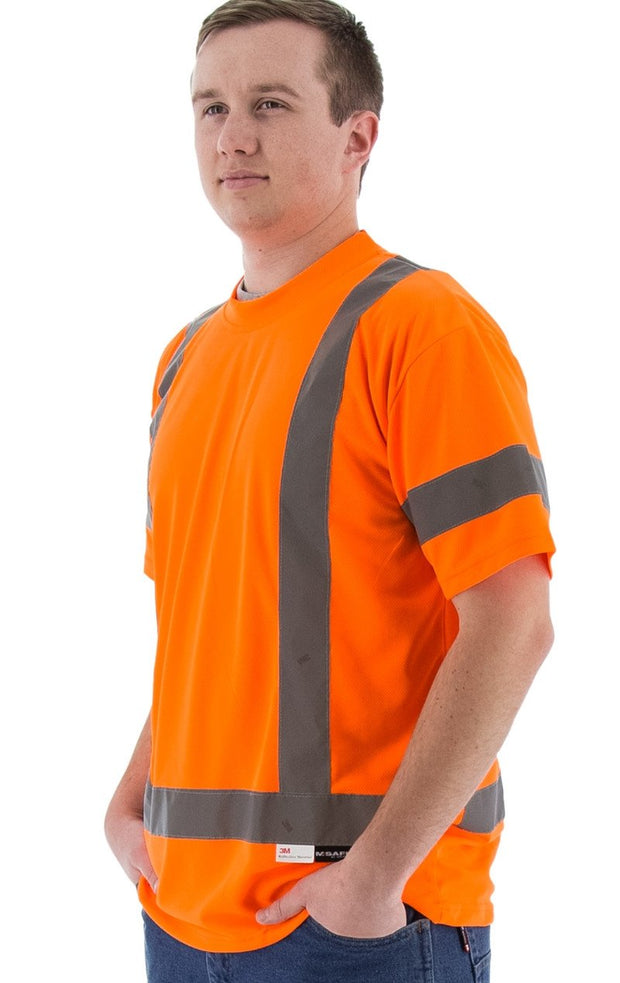 Safety Shirt Majestic 75-5304 Hi Vis CL3 Safety T-Shirt: Global Construction Supply