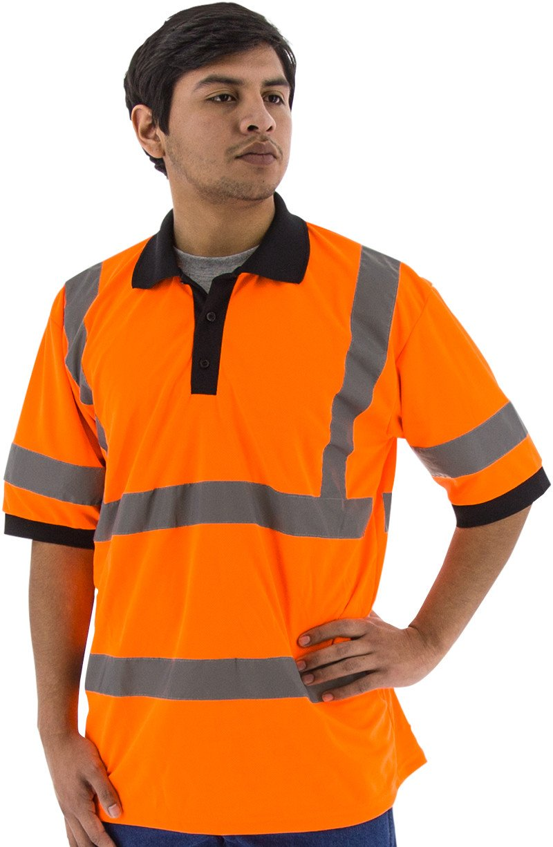 Safety Shirt Majestic 75 5312 Hi Vis Cl3 Safety Polo Global