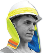 75-8071 High Visibility Yellow Cooling Neckshade by Majestic - Global Construction Supply