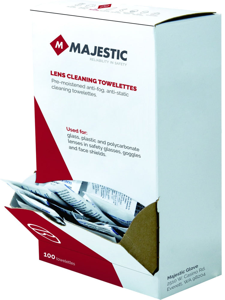 Lens Cleaning Towelettes 85-9000 - Global Construction Supply