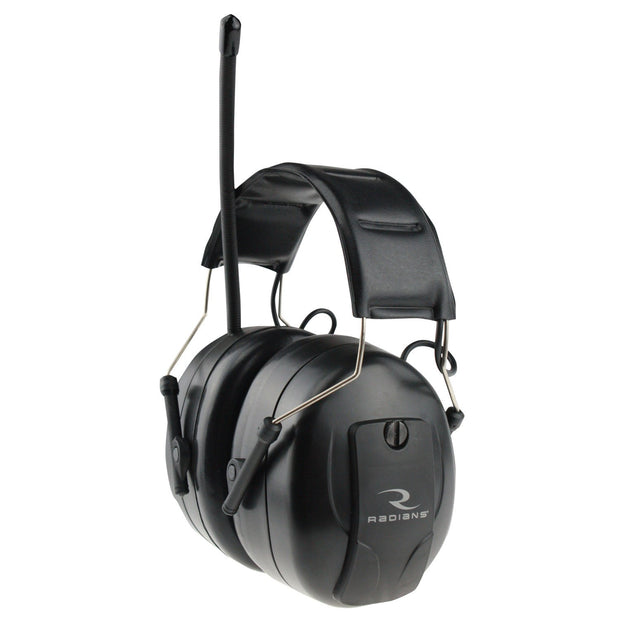 AMFMD1C Radians AM/FM Digital Tuning Electronic Earmuff with LCD Display - Global Construction Supply