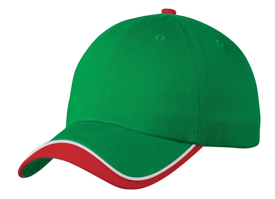 Port Authority® Double Visor Cap. C828: Global Construction Supply