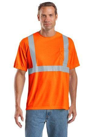 CornerStone CS401 Hi Vis ANSI Class 2 Safety T-Shirt - Global Construction Supply