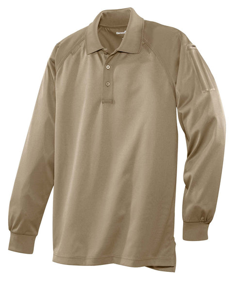 CornerStone CS410LS Select Long Sleeve Snag-Proof Tactical Polo - Global Construction Supply