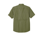 Carhartt Force ® Ridgefield Solid Short Sleeve Shirt CT102417 - Burnt Olive