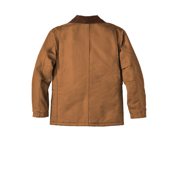 Carhartt ® Tall Duck Traditional Coat CTTC003 - Carhartt Brown