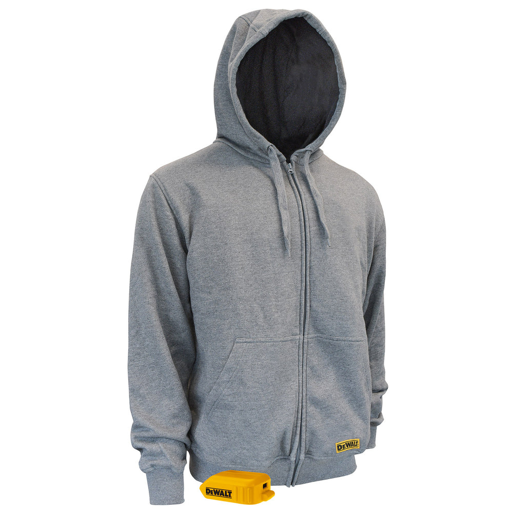 DeWALT DCHJ080 Men's French Terry Heated Hoodie