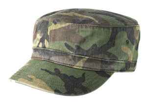 Military Camo District® - Distressed Military Hat. DT605.
