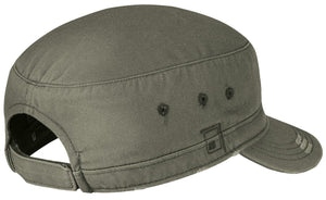 District® - Distressed Military Hat. DT605.