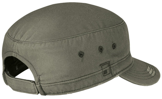 District® - Distressed Military Hat. DT605. - Global Construction Supply