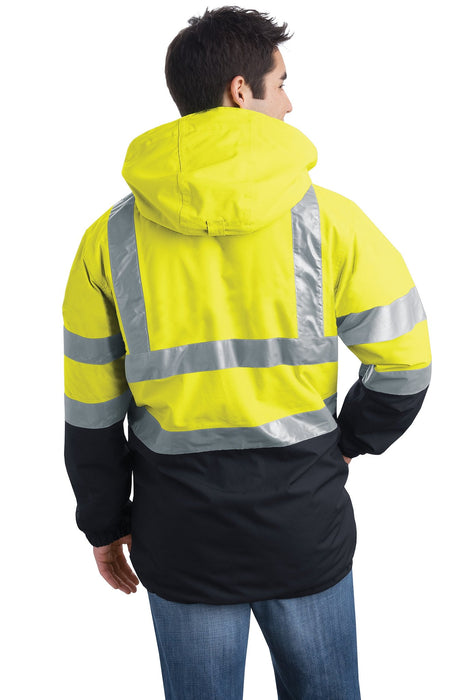 Port Authority J799S  ANSI 107 Class 3 Heavyweight Safety Parka: Global Construction Supply
