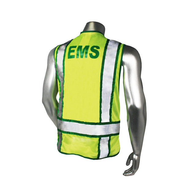 Back Radians LHV-207-3G-EMS EMS Safety Vest ANSI CL2
