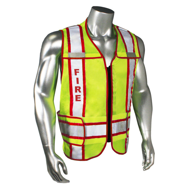 Radians LHV-207-3G-FIR Fire Fighter Safety Vest ANSI CL2