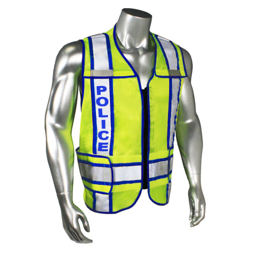 Radians LHV-207-3G-POL Custom Police Safety Vest ANSI CL2: Global Construction Supply