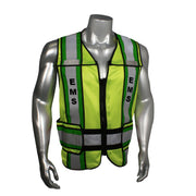 Radians LHV-207-4C-EMS Custom EMS Safety Vest ANSI CL2: Global Construction Supply