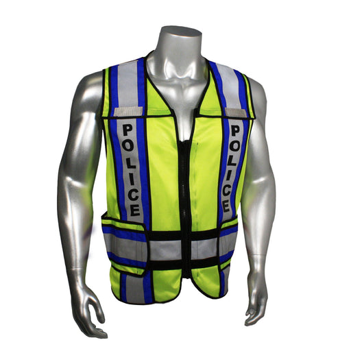 Radians LHV-207-4C-POL Custom Police Safety Vest ANSI CL2: Global Construction Supply