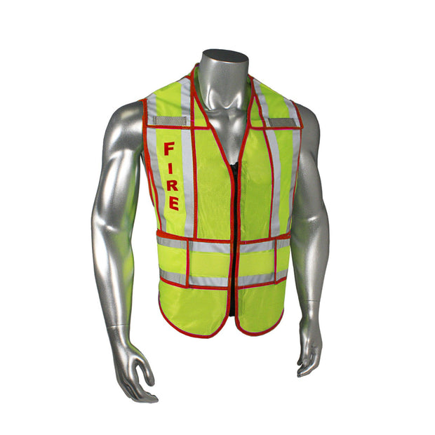Radians LHV-207-SPT-FIR Fire Fighter Safety Vest ANSI CL2