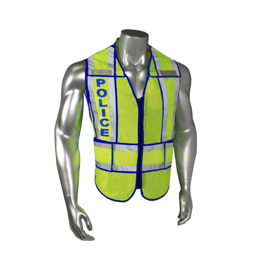 Radians LHV-207-SPT-POL Custom Police Safety Vest ANSI CL2: Global Construction Supply