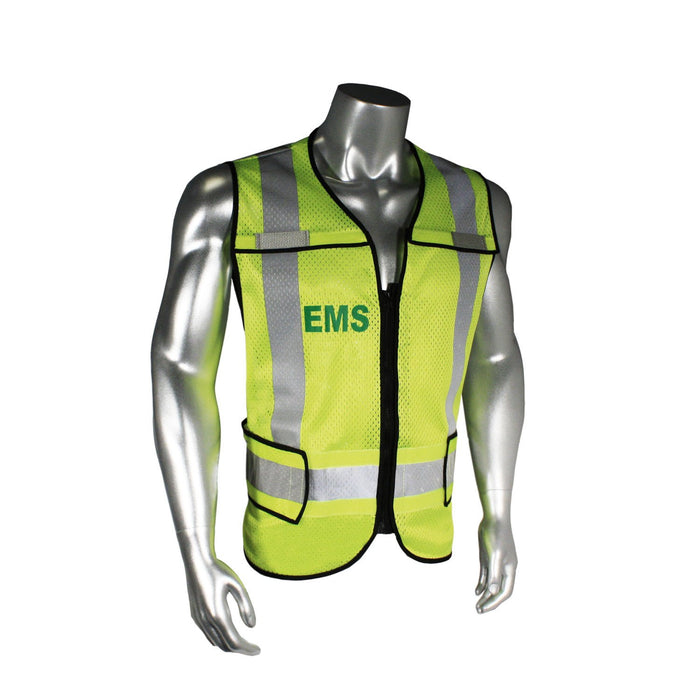Radians LHV-5-PC-ZR-EMS Custom EMS Safety Vest ANSI CL2: Global Construction Supply