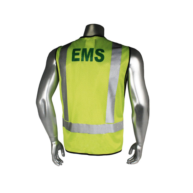 Back Radians LHV-5-PC-ZR-EMS EMS Safety Vest ANSI CL2