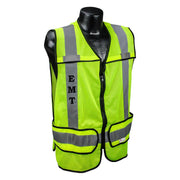 Sample Custom EMS Safety Vest ANSI CL2 with Your Logo