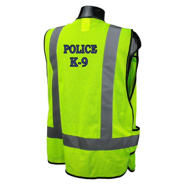 Sample Custom Police/Sheriff Safety Vest ANSI CL2 with Your Logo