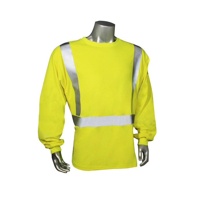 Radians CL2 Fire Retardant Long Sleeve Safety T-Shirt: Global Construction Supply