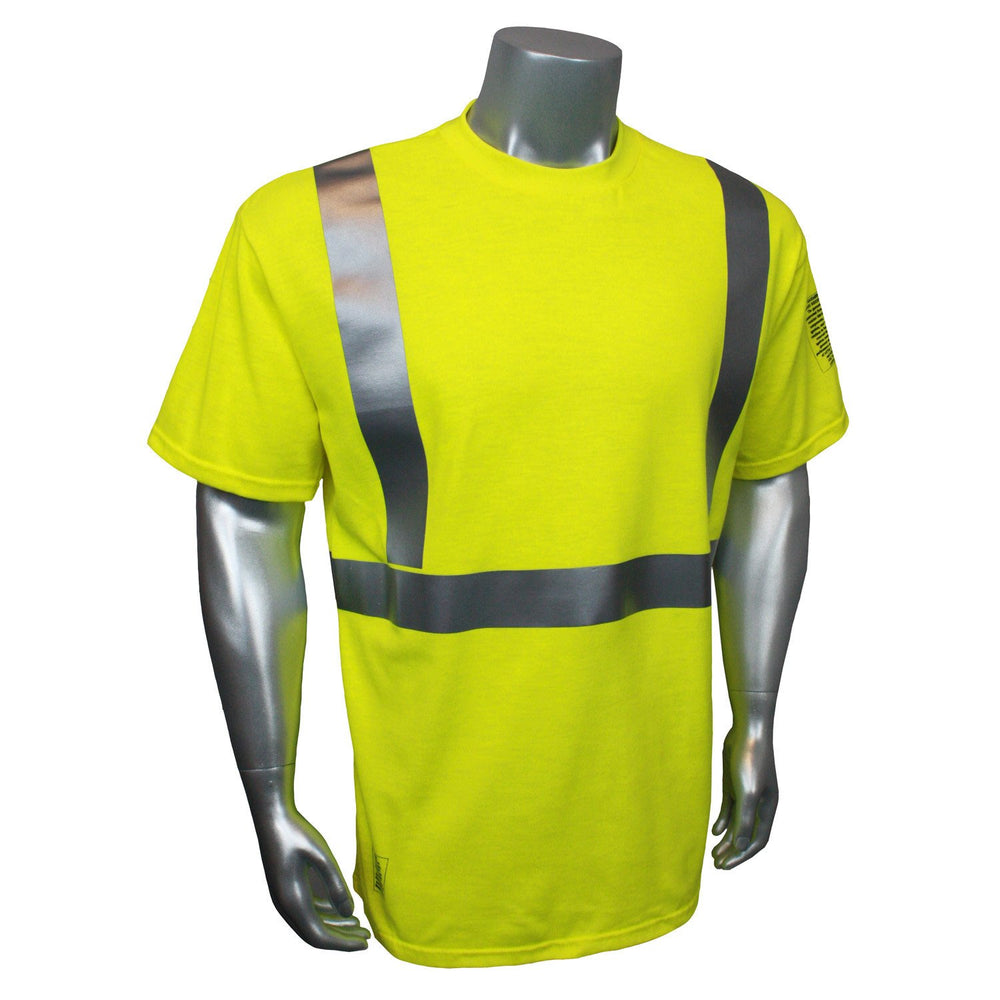 Radians CL2 Fire Retardant Short Sleeve Safety T-Shirt: Global Construction Supply