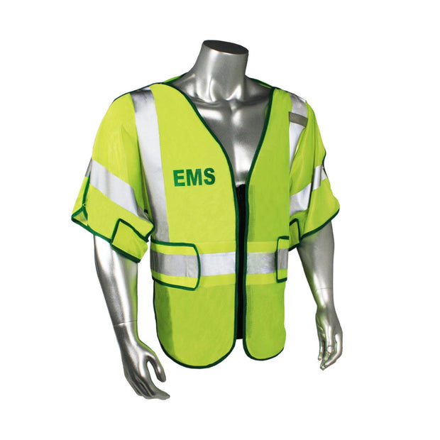 Radians LHV-PS3-DSZR-EMS Custom EMS Safety Vest ANSI CL3: Global Construction Supply