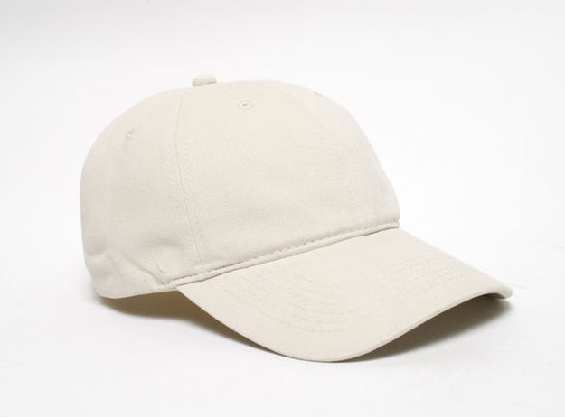 Custom Embroidered Pacific Headwear PE8 Unstructured Buckle Back Hat