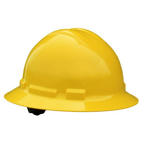 Radians QUARTZ™ QHR4 4 Pt Ratchet Full Brim Hard Hats - Minimum 20: Global Construction Supply