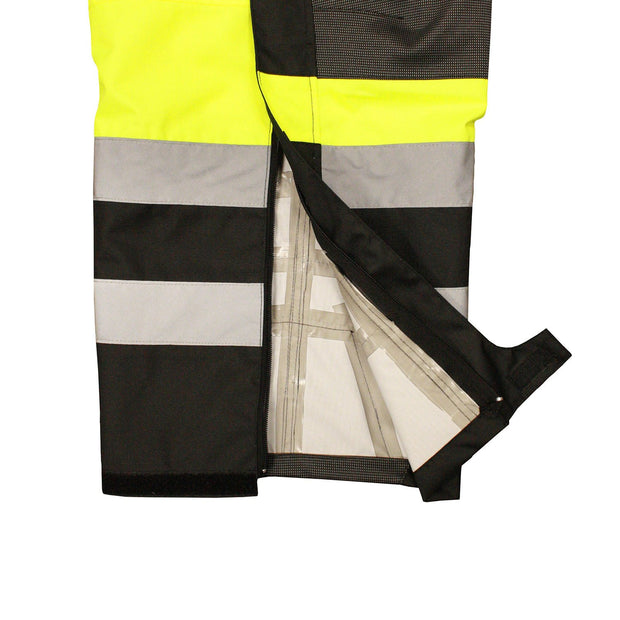Safety Pants Radians RW32-EZ1Y Heavy Duty Rip Stop Pants with Bib: Global Construction Supply