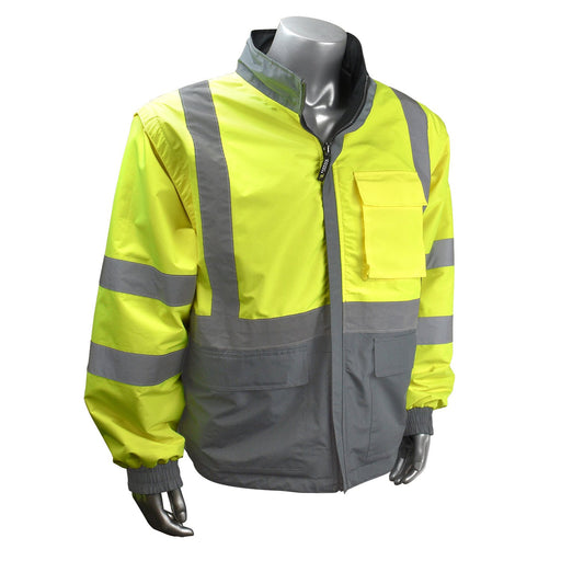 Radians SJ07-3ZDS Reversible Windbreaker with Zip-Off Sleeves: Global Construction Supply