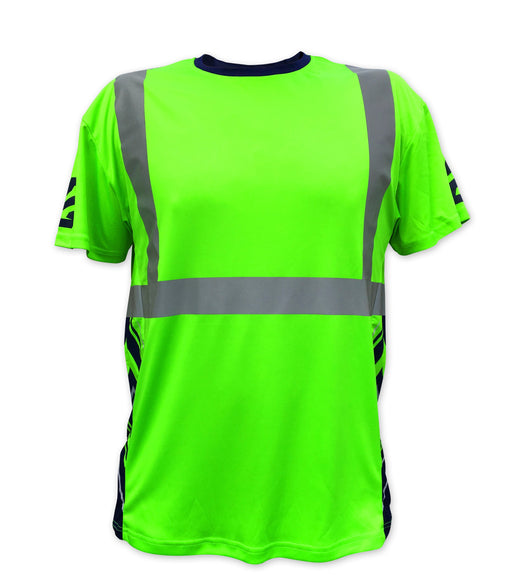 SafetyShirtz - SS360 Seattle 12 Class 2 Safety Shirt Safety Green: Global Construction Supply