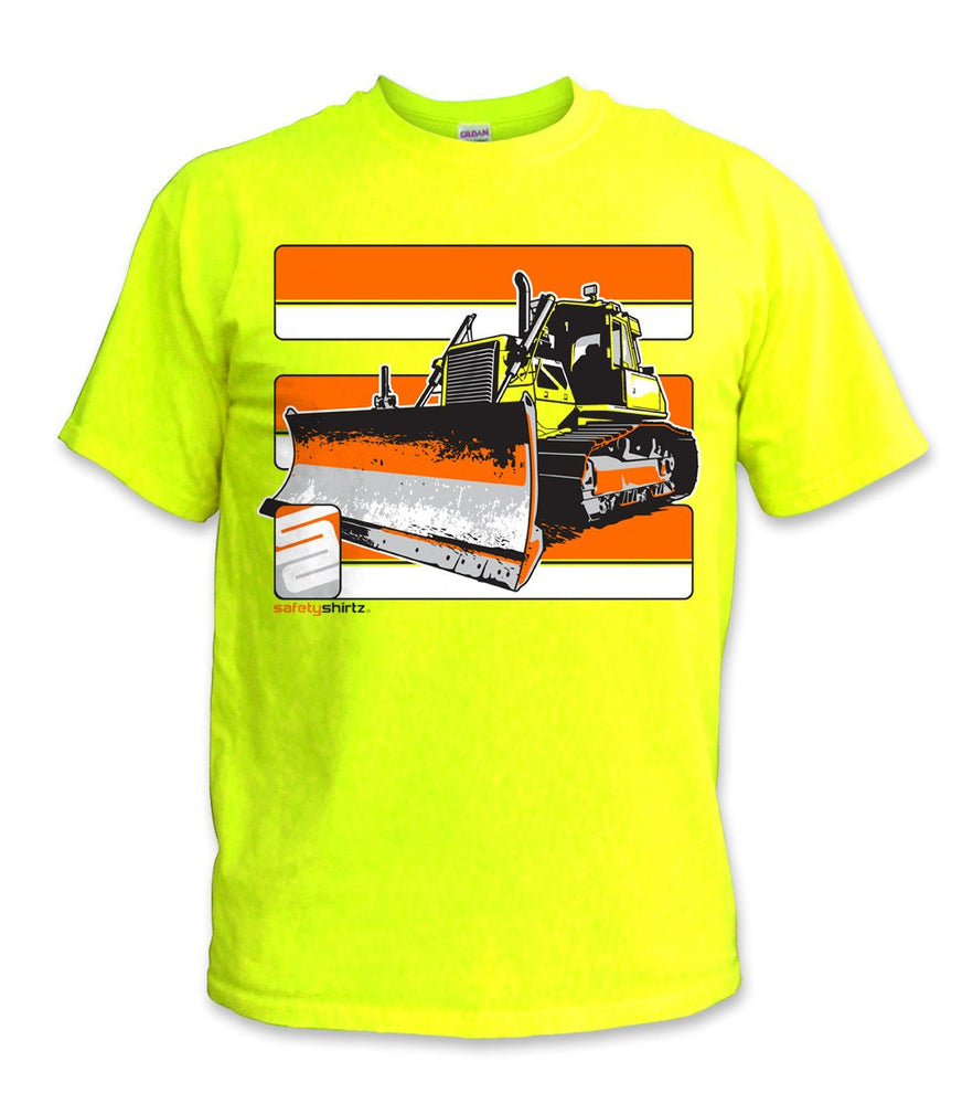 SafetyShirtz - Bulldozer Safety Shirt- Yellow/Orange: Global Construction Supply