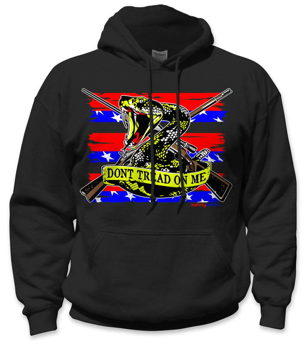 SafetyShirtz - Patriot Safety Hoodie - Red/Yellow/Black: Global Construction Supply