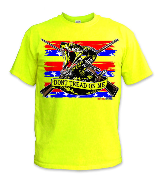 SafetyShirtz - Patriot Safety Shirt- Red/Blue/Yellow: Global Construction Supply