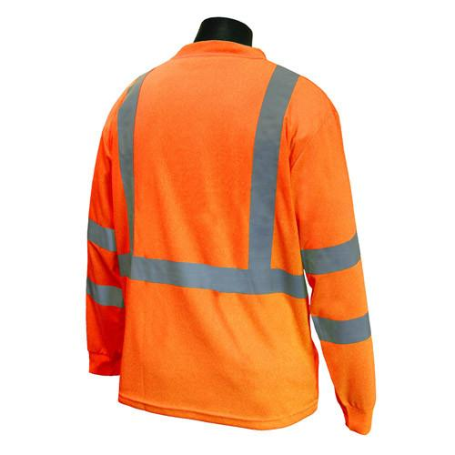 Radians ST21-3 Type R Class 3 Long Sleeve T-Shirt with MAX-DRI™: Global Construction Supply