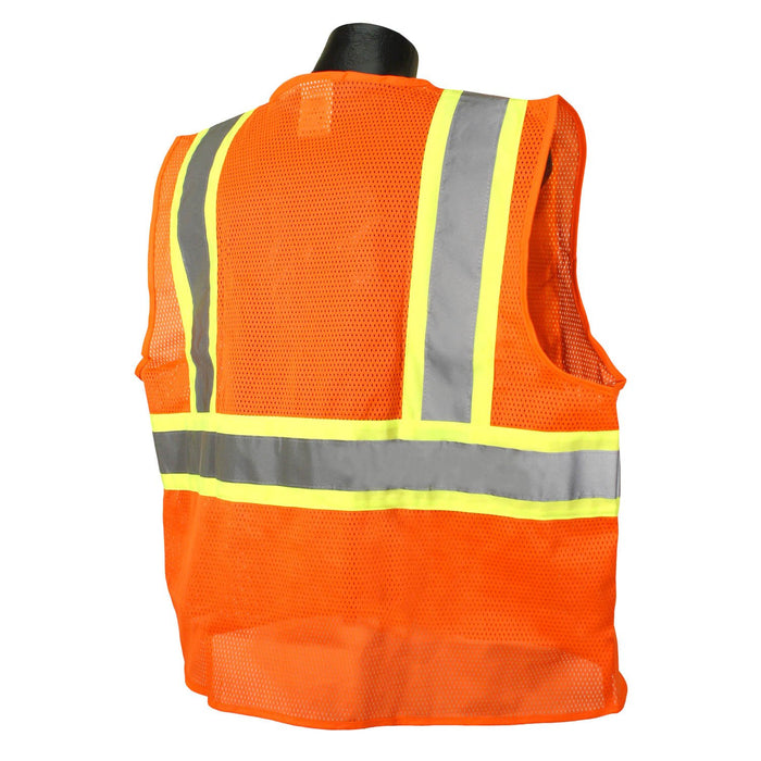 Radians SV225 CLASS 2 Self Extinguishing Two Tone Trim Safety Vest: Global Construction Supply
