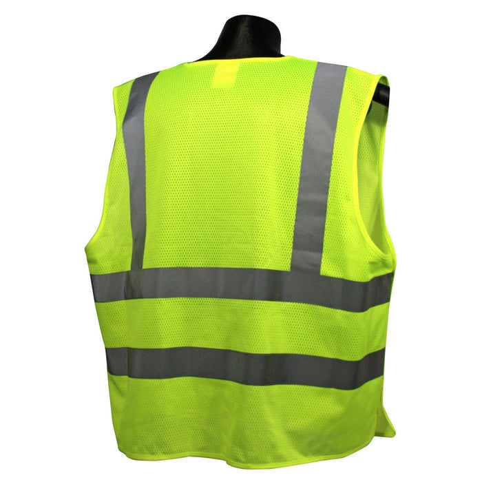 Radians SV45-2 CLASS 2 Type R Self Extinguishing Mesh Breakaway Vest: Global Construction Supply