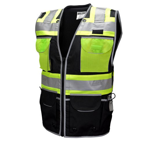 Radians SV55-1 Heavy Woven Two Tone Engineer Vest Type O Class 1 Vest