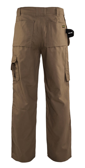 Blaklader Antique Khaki Bantam Work Pants with Utility Pockets 1630