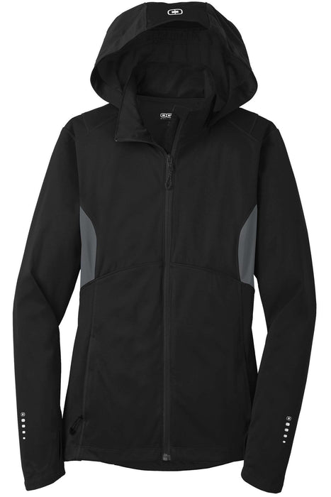 OGIO® ENDURANCE Ladies Pivot Soft Shell. LOE721.: Global Construction Supply