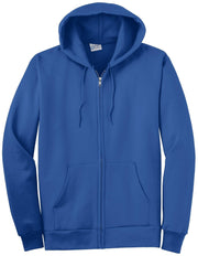 Port & Company PC90ZH Ultimate Full Zip Hooded Sweatshirt: Global Construction Supply