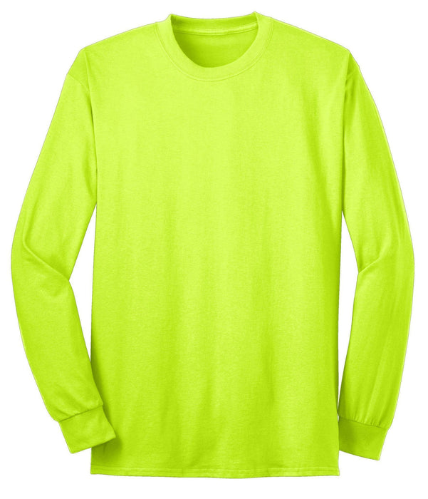 Port & Company USA100LS Long Sleeve All-American Tee T-Shirt: Global Construction Supply