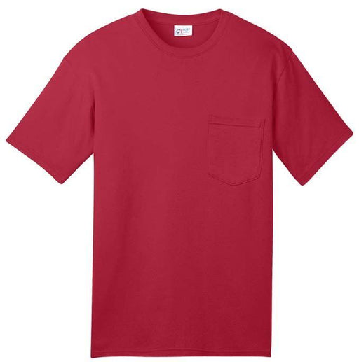Port & Company USA100P All-American Tee Pocket T-Shirt: Global Construction Supply
