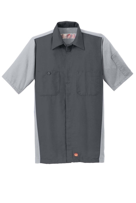 Red Kap SY20 Short Sleeve Ripstop Crew Shirt: Global Construction Supply