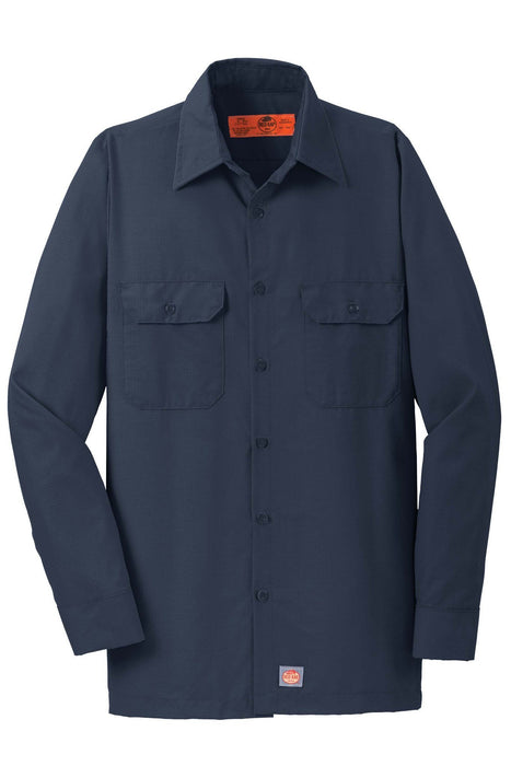 Red Kap SY50 Long Sleeve Solid Ripstop Shirt: Global Construction Supply